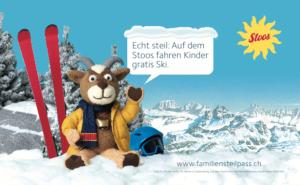 Echt Steil: Kinder fahren gratis Ski.